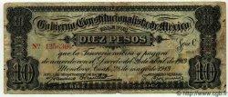 10 Pesos MEXIQUE  1913 PS.0629 B+ à TB