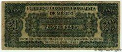20 Pesos MEXIQUE  1913 PS.0632c TB+