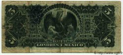5 Pesos MEXIQUE  1913 PS.0233d pr.TB