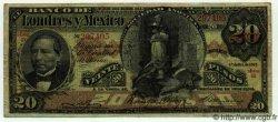 20 Pesos MEXIQUE  1913 PS.0235d TB à TTB