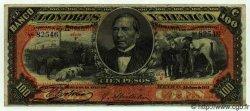 100 Pesos MEXIQUE  1913 PS.0237e TTB