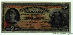 2 Pesos MEXIQUE  1913 PS.0256a TTB