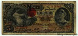 5 Pesos MEXIQUE  1908 PS.0257c B
