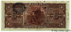 5 Pesos MEXIQUE  1913 PS.0257c TTB