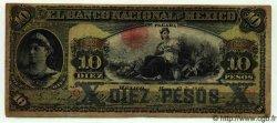 10 Pesos MEXIQUE  1912 PS.0258e B+