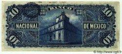 10 Pesos MEXIQUE  1913 PS.0258e TB+