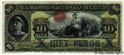10 Pesos MEXIQUE  1913 PS.0258e AB