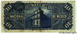 10 Pesos MEXIQUE  1913 PS.0258e pr.TTB