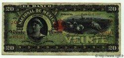 20 Pesos MEXIQUE  1913 PS.0259d TTB