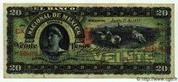 20 Pesos MEXIQUE  1913 PS.0259d TB+