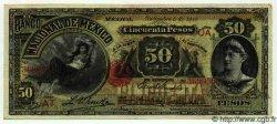 50 Pesos MEXIQUE  1913 PS.0260d pr.SUP
