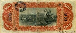 500 Pesos MEXIQUE  1911 PS.0262b TB+