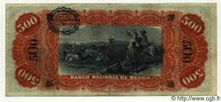 500 Pesos MEXIQUE  1911 PS.0262b TTB+