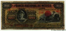 1000 Pesos MEXIQUE  1909 PS.0263a pr.TB