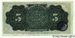 5 Pesos MEXIQUE  1915 PS.0685a SUP