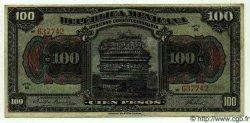 100 Pesos MEXIQUE  1915 PS.0689a TTB