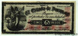 5 Pesos MEXIQUE  1914 PS.0732a SPL