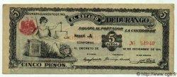 5 Pesos MEXIQUE  1915 PS.0746b SPL