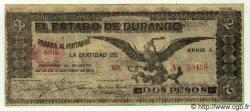 2 Pesos MEXIQUE  1915 PS.0750 TTB
