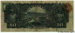 10 Pesos MEXIQUE  1907 PS.0330b TB