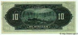 10 Pesos MEXIQUE  1915 PS.0306s pr.SPL