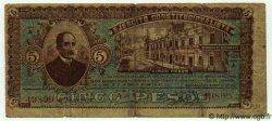 5 Pesos MEXIQUE Guadalajara 1915 PS.0861 B à TB