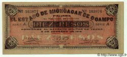 10 Pesos MEXIQUE  1915 PS.0883a SPL