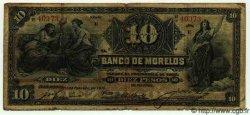 10 Pesos MEXIQUE Morelos 1910 PS.0346b B+