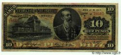 10 Pesos MEXIQUE  1911 PS.0353Ab TTB