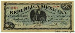 50 Centavos MEXIQUE Monterrey 1914 PS.0936c NEUF