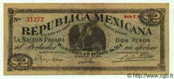 2 Pesos MEXIQUE  1914 PS.0938 SUP