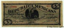 5 Pesos MEXIQUE  1914 PS.0939 TTB+ à SUP
