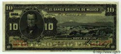 10 Pesos MEXIQUE  1910 PS.0382c TTB+