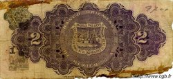 2 Pesos MEXIQUE  1914 PS.0389b AB