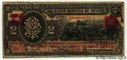 2 Pesos MEXIQUE Puebla 1914 PS.0389b B