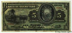 5 Pesos MEXIQUE  1914 PS.0390b TTB+