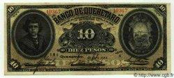 10 Pesos MEXIQUE Queretaro 1914 PS.0391b TTB+