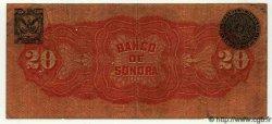 20 Pesos MEXIQUE  1911 PS.0421c B