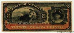 20 Pesos MEXIQUE  1915 PS.0421d TTB+