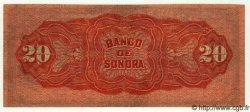 20 Pesos MEXIQUE  1915 PS.0421d TTB à SUP