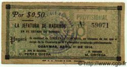 50 Centavos MEXIQUE  1914 PS.1056 TTB