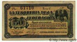 50 Centavos MEXIQUE  1914 PS.1059a TTB