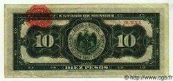 10 Pesos MEXIQUE Hermosillo 1915 PS.1073 TTB