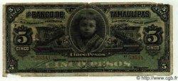 5 Pesos MEXIQUE  1913 PS.0429b B