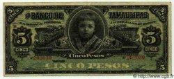 5 Pesos MEXIQUE  1911 PS.0429e TTB