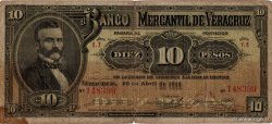 10 Pesos MEXIQUE  1914 PS.0439c B+