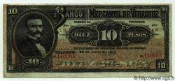 10 Pesos MEXIQUE  1914 PS.0439c TTB