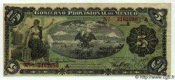 5 Pesos MEXIQUE  1914 PS.1104a TTB
