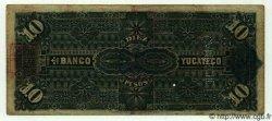 10 Pesos MEXIQUE  1911 PS.0459b TB à TTB