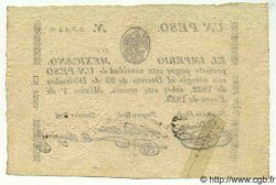 1 Peso MEXIQUE  1823 P.001b SUP